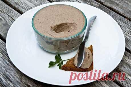 Минимум калорий, максимум вкуса: грибной паштет