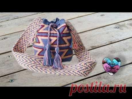 Mochila Wayuu crochet ❤️