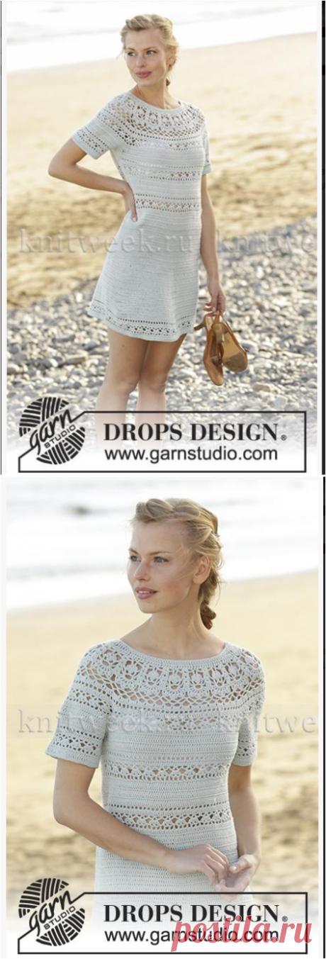 Вязание крючком для женщин Платье