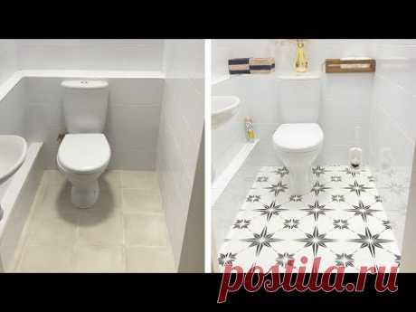 DIY Перекраска плитки в туалете