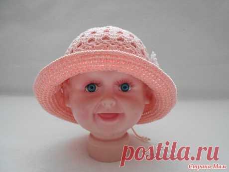 Детские летние шапочки - Вязание - Страна Мам