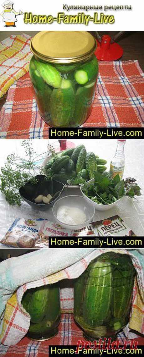 Маринованные огурцы - Кулинарные рецепты | Кулинарные рецепты