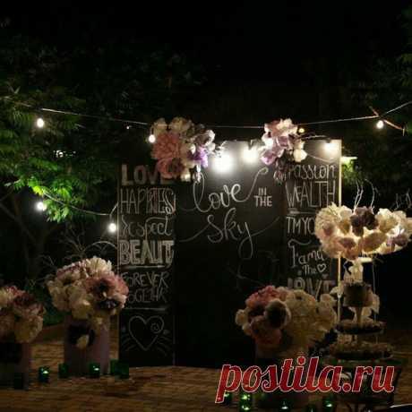 Сказочная церемония для Маши и Жени)