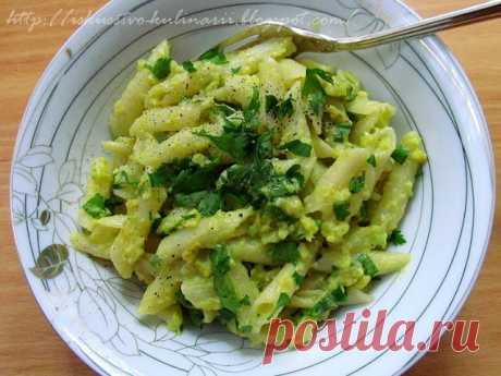 Постигая искусство кулинарии... : Паста с соусом из авокадо