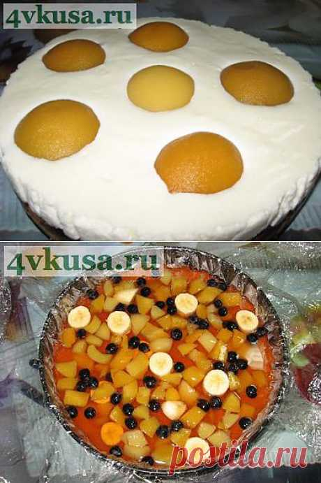 Мой Торт Яичница-глазунья (торт без выпечки). Фоторецепт. | 4vkusa.ru