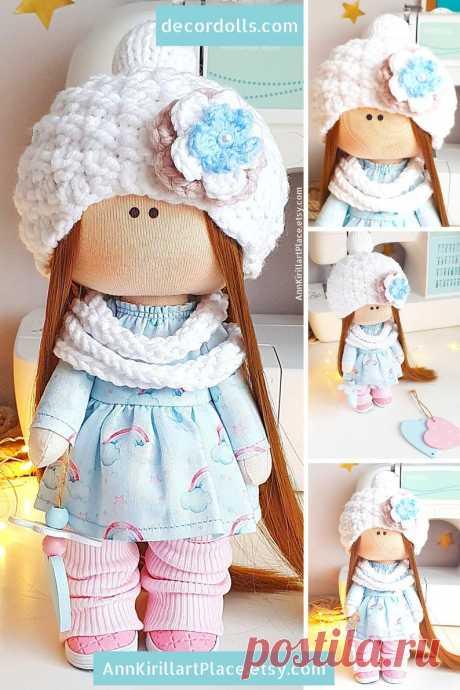 Interior Decoration Doll Handmade Tilda Cloth Doll Nursery | Etsy