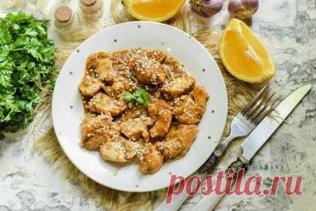 Мой удачный эксперимент! Куриное филе в апельсиновом соусе по-азиатски   Fresh.ru домашние рецепты   Яндекс Дзен