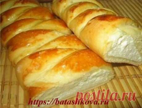 Пирог с творогом, а точнее плетенка с творожной начинкой… - Простые рецепты Овкусе.ру
