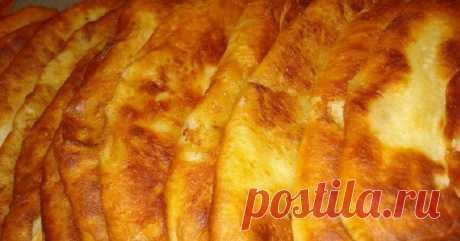 Тонкие пирожки с картошкой...