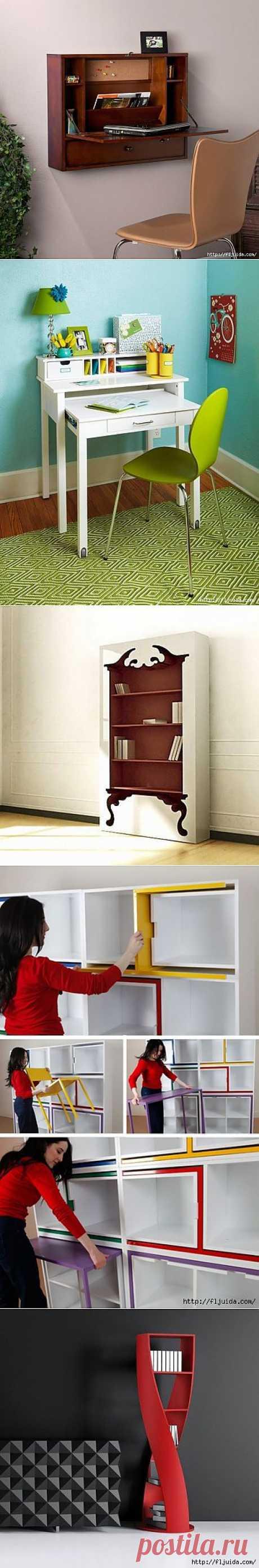 Оригинальные столы и другая мебель для интерьера..