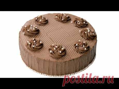 Chocolate Velvet cake. Super chocolate cake layers and gentle chocolate cream.
