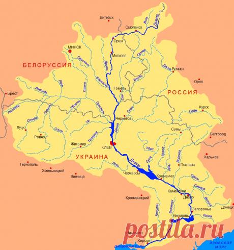 Река Днепр | Популярная наука | Яндекс Дзен