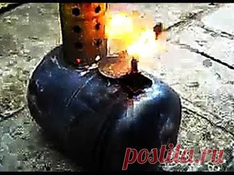 Печка на зиму! - Экономная печка на отработанном масле!