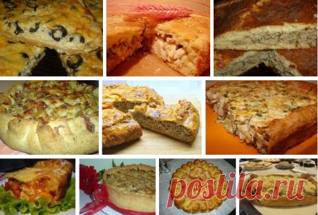 Рецепты вкусных пирогов с начинкой.