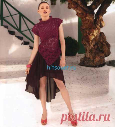 Вязание спицами для женщин с описанием и схемами - Страница 374 из 394