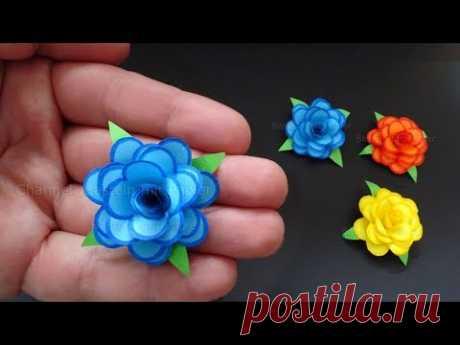 мастер класс по изготовлению розы из бумаги ярмарка