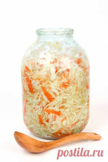 Сколько капусты, моркови и соли надо для квашения в одной 3 л банке .
