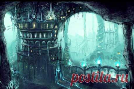 Подземный мир Ктонов
