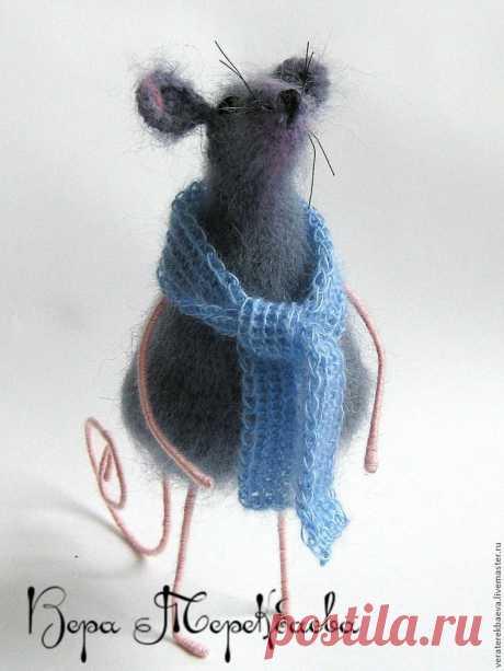 Как связать милую мышку | Журнал Ярмарки Мастеров