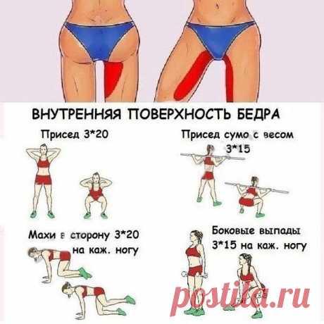 Простые и действенные упражнения! И помните, упражнения нужно не только сохранять, но и выполнять!