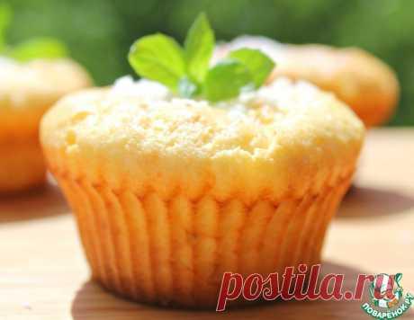 Творожные кексы с миндалем – кулинарный рецепт