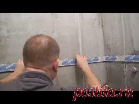 Облицовка плиткой чугунной ванны ч.2