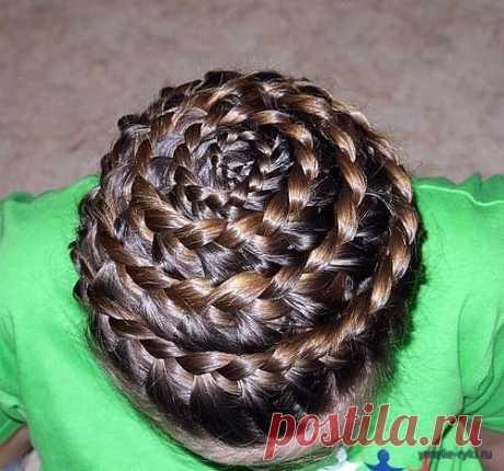 Причёска Улитка - Для умелых рук