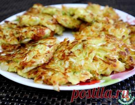 Капустные оладьи с плавленым сырком – кулинарный рецепт