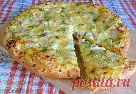 Пицца по-деревенски..
