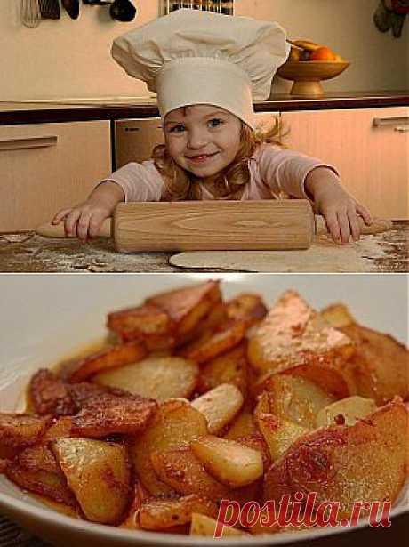 Картошка жареная в мультиварке | Готовим вместе