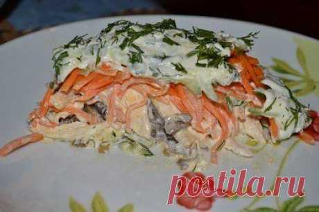 """салат """"Оргазм"""". Вкусно, просто, оригинально!!!"""