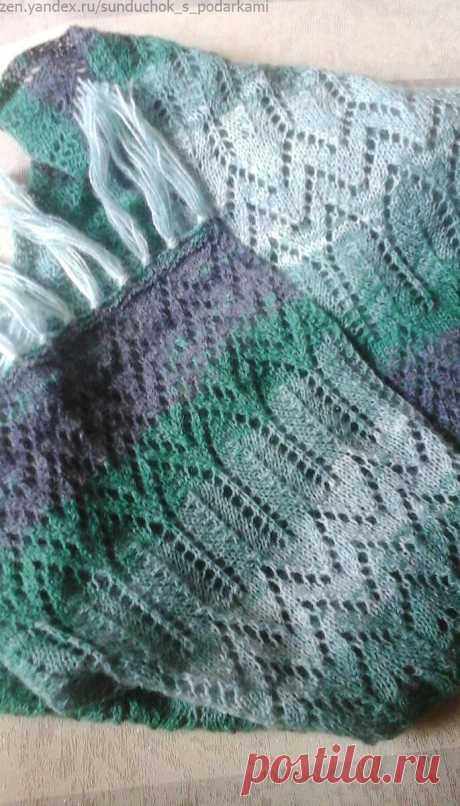 Почему я иногда меняю схемы узоров при вязании | Сундучок с подарками | Яндекс Дзен