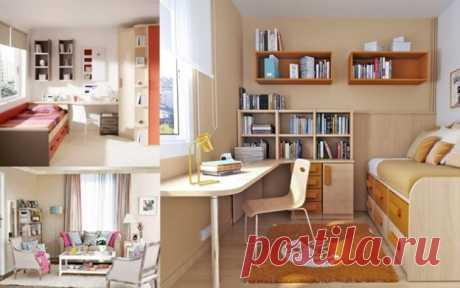 интерьер маленькой комнаты - Самое интересное в блогах
