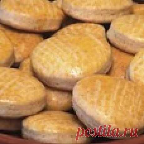Мини-коржики на сметане Кулинарный рецепт