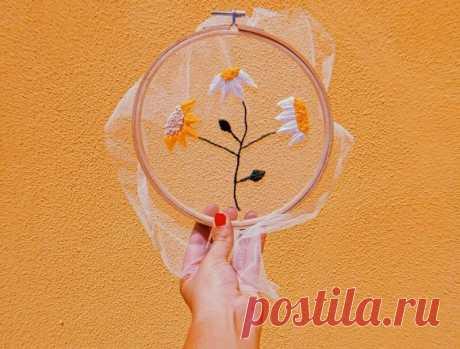 Прелестные идеи для воздушной вышивки на фатине | MIAZAR | Яндекс Дзен