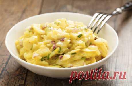 Картофельный салат: сытная вкуснота на обед и ужин - Steak Lovers - медиаплатформа МирТесен