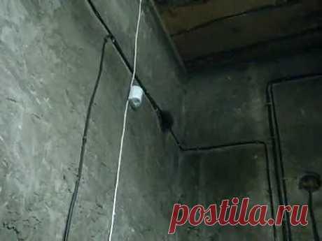 Установка сигнализации в гараже часть4.MPG - Яндекс.Видео