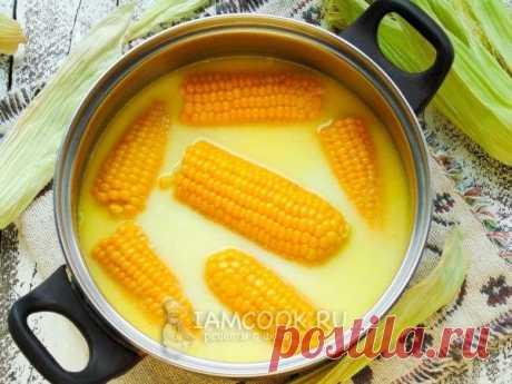 El único modo correcto de cocer el maíz.