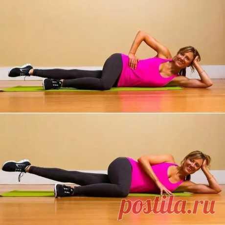 Упражнения для стройных бедер: всего 8 минут в день лежа без нагрузки на колени - Уголок хозяйки - медиаплатформа МирТесен