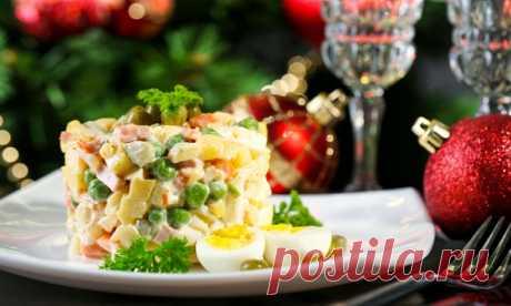 Без этих блюд Новый год как будто ненастоящий!!! — Вкусные рецепты