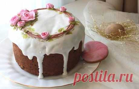 25 ideas for decoration of easter Easter cakes