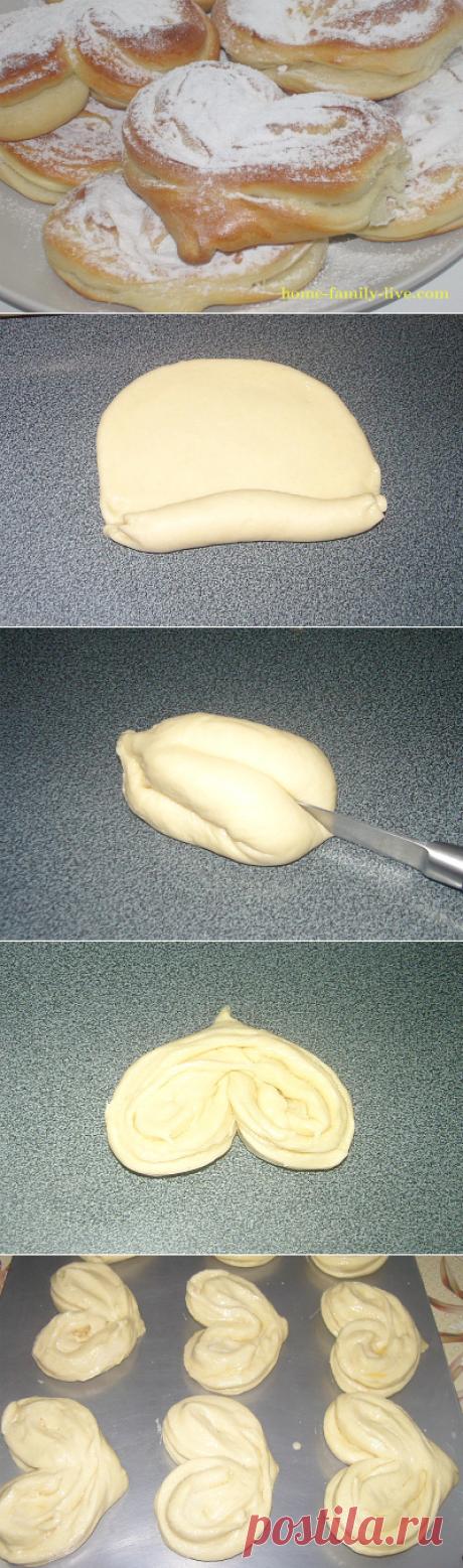 Плюшка московская/Сайт с пошаговыми рецептами с фото для тех кто любит готовить