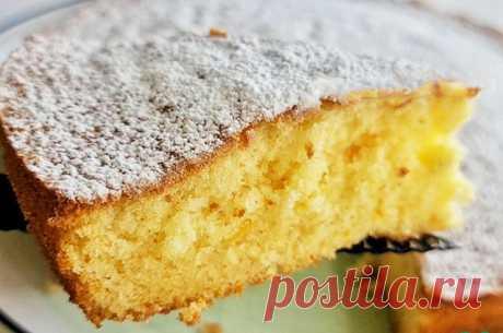 Нежный апельсиновый пирог — МОЯ КУХНЯ