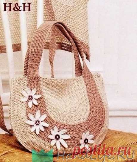 Вязаная сумка / Вязание