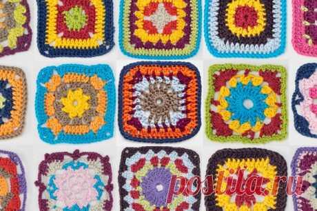 25 Free Granny Square Patterns - Gathered