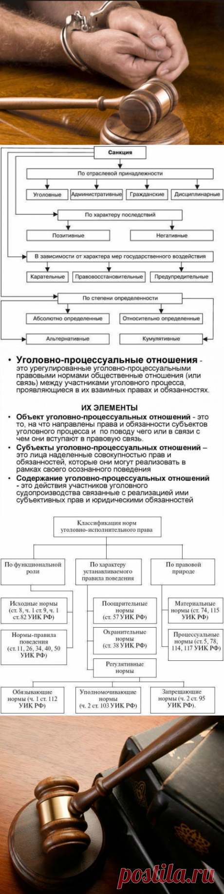 Понятие уголовно-процессуальных норм, их виды и структура