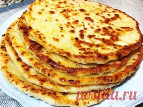 KHACHAPURI in Russian or Vkusnyushchy CHEESE FLAT CAKES. Cheese Tortilla.