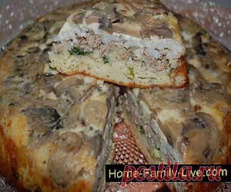Кулинарные рецепты Пирог перевертыш » Кулинарные рецепты