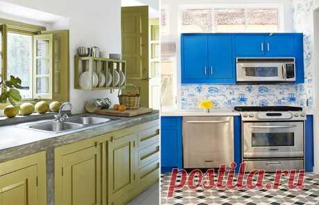 Отличные современные интерьеры для кухни