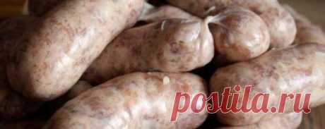 Домашняя колбаса Банкетная на решетке | Рецепты | Кулинарный портал